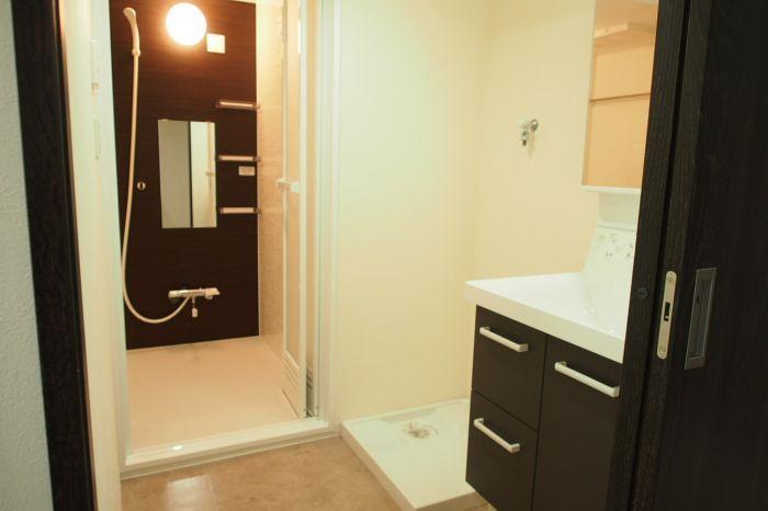 スタイリッシュモダンに合う浴室