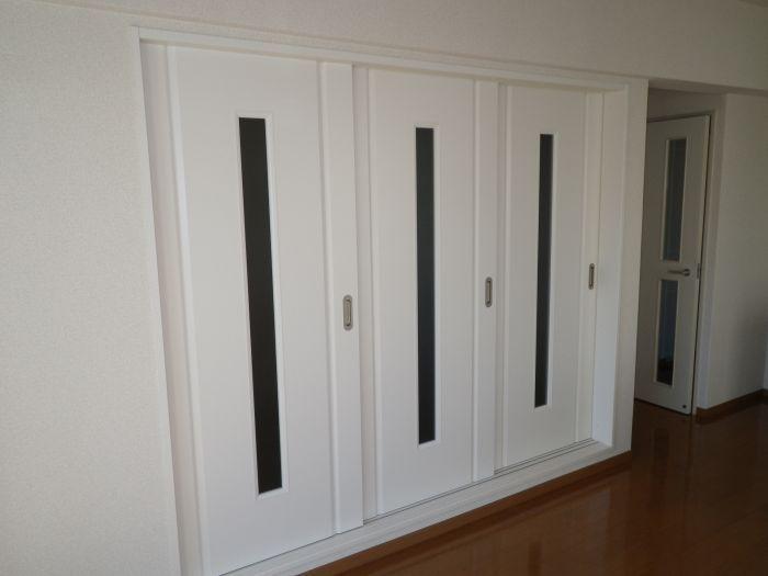3DKを2LDKに。和室もあえて琉球畳に。